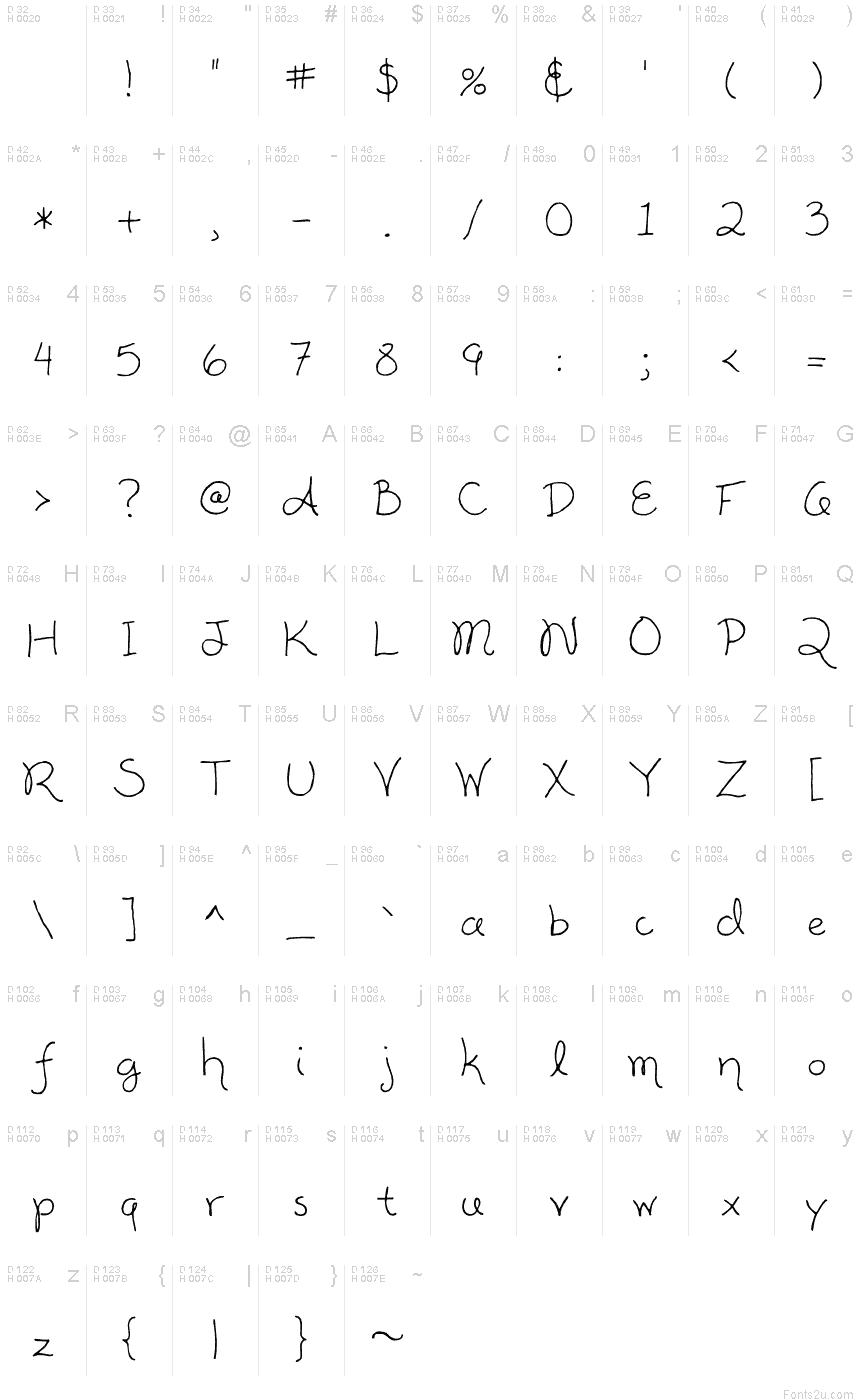 alisha font