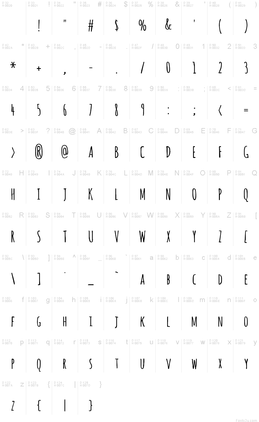 amatic sc font in word
