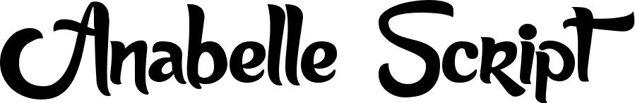 Annabelle скачать шрифт
