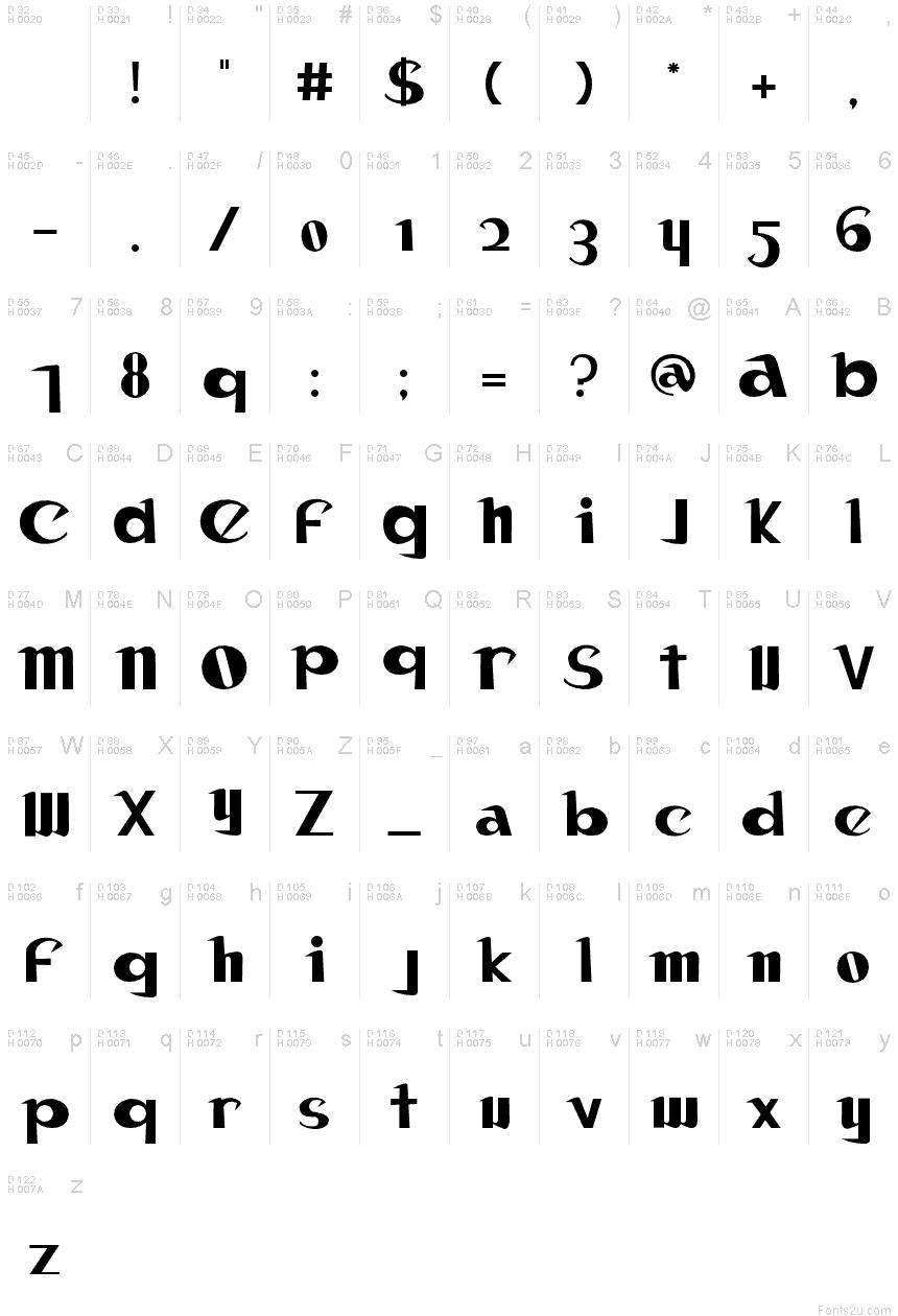 Canon Eos Font