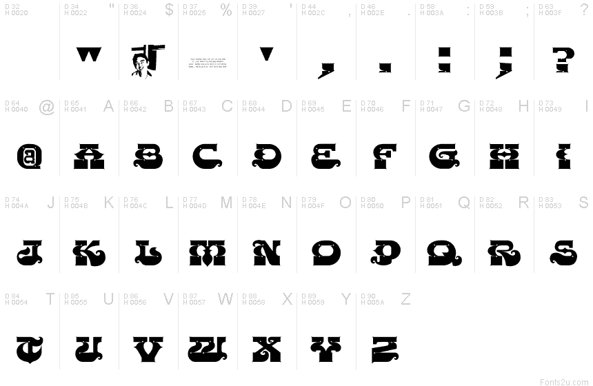 Chase zen punjabi font Punjabi calligraphy font