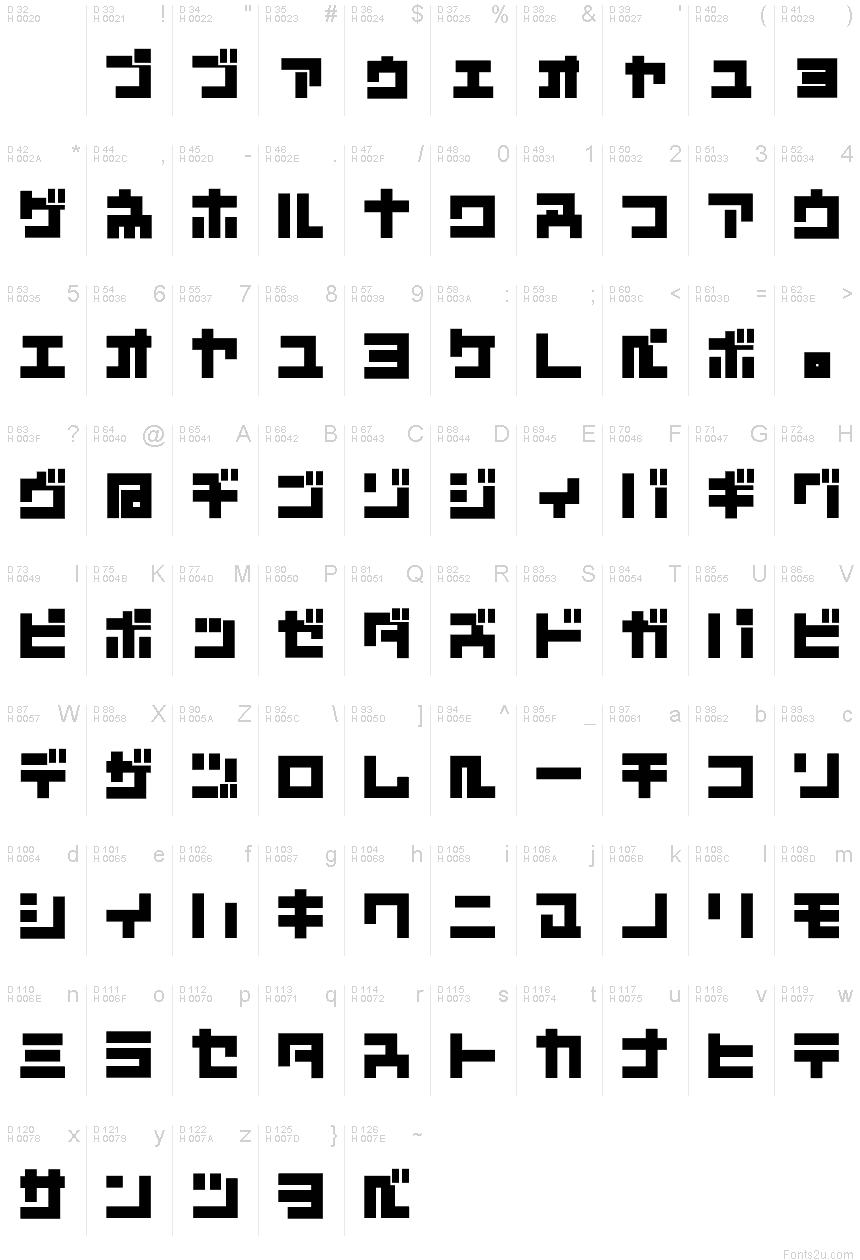 Vietnamese Calligraphy D3 Mouldism Katakana f...