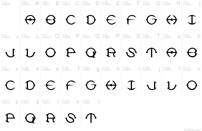 delphi font