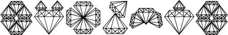 Diamond Blocks Regular フォント