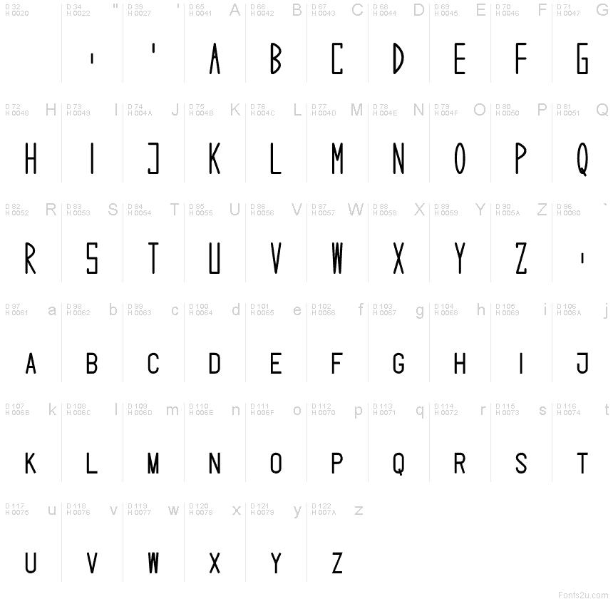 SnowCaps font