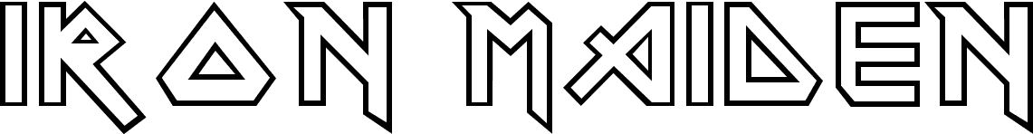 Iron Font Generator Iron Maiden Font