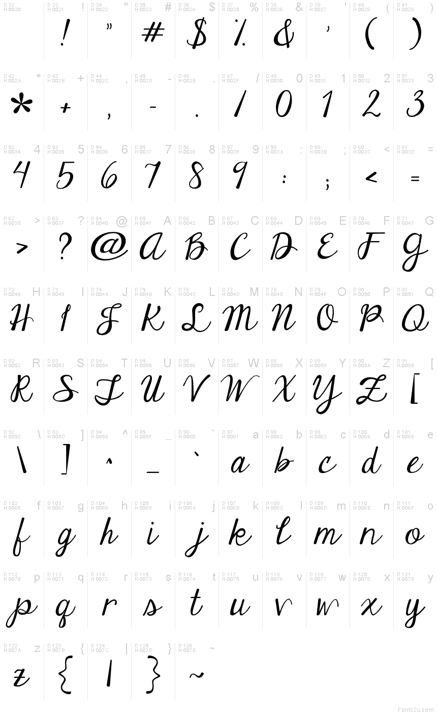 Cool Writing Font