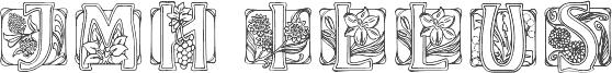 JMHIllusCaps-Regular carattere