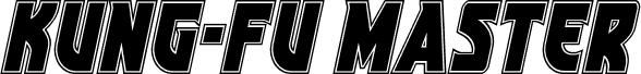 Kung-Fu Master Academy Italic шрифт