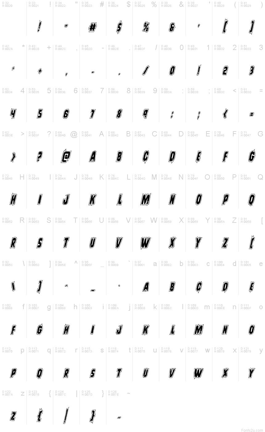 Blackjack font free mac