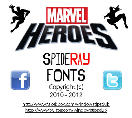 Marvel Font - voitures-americaines info