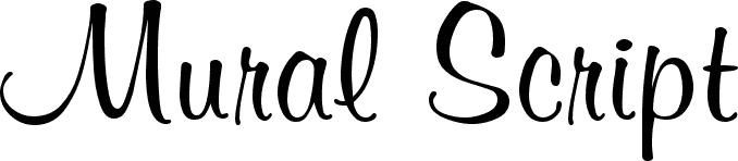 Mural Script | 3D Fonts, Arabic Fonts, Celtic Fonts, for Android ...