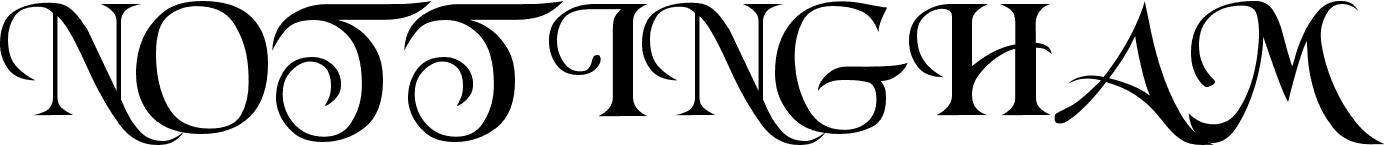 Nottingham font