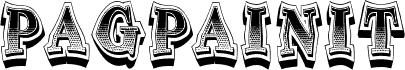 Pagpainit Regular fonte