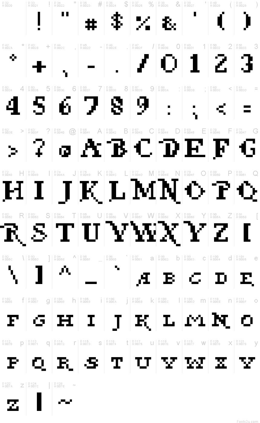 Pixel Pirate Regular Font