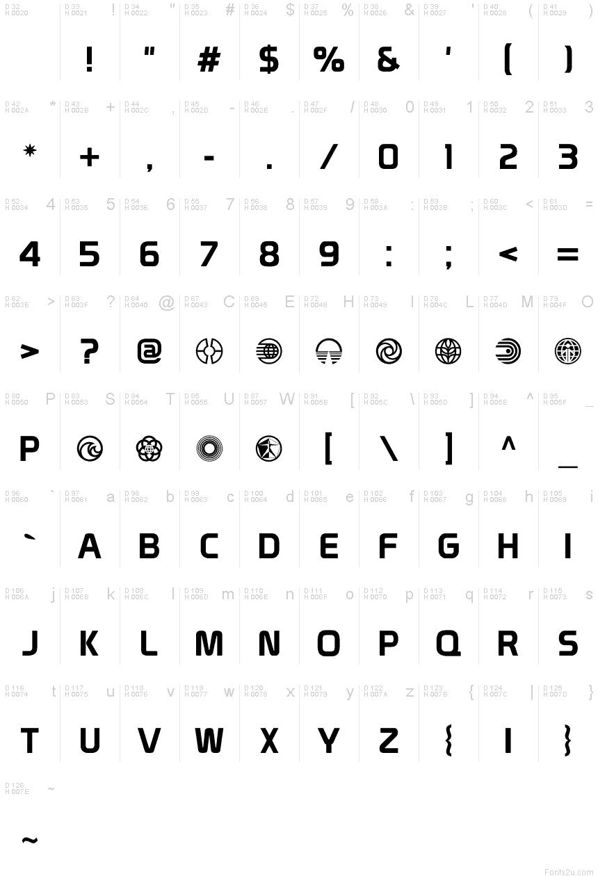 font prototype 2