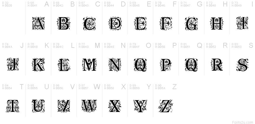 regal font