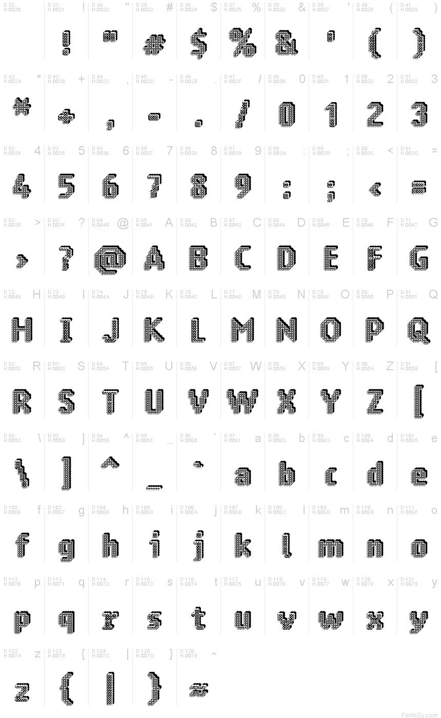 1 2 3 math fonts version 4