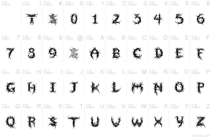 Letter S Fonts