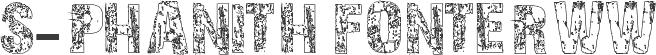 S-PHANITH FONTER WW písmo