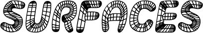 Surfaces Italic 字体