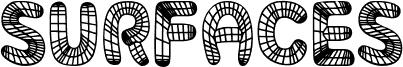 Surfaces Regular Schriftart