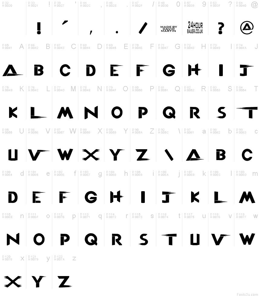 tna logo font
