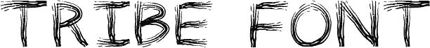 TRIBE FONT Regular font