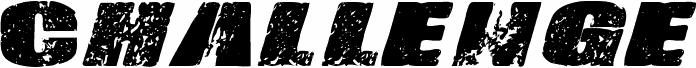 Vtks-Challenge font