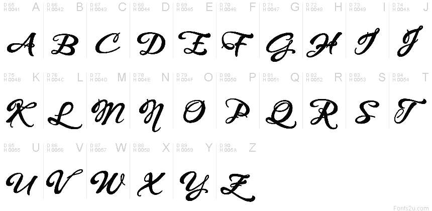 Whispers calligraphy demo sinuous bold font