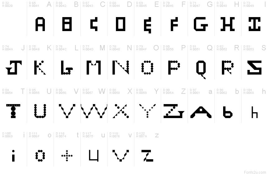 Zach regular font
