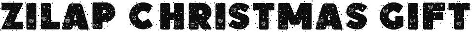 Zilap Christmas Gift Personal U DEMO Schriftart