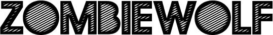 ZOMBIEWOLF PERSONAL USE Regular font